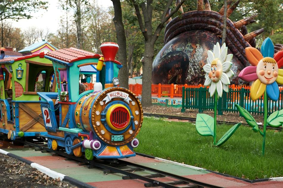 Family fun at Gorky Park in Kharkov