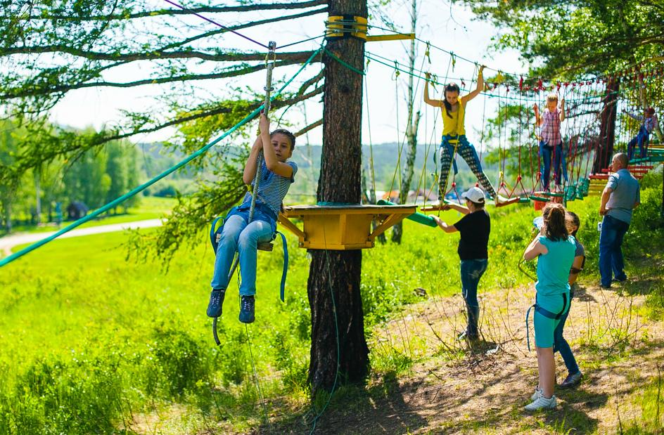 Carting, Climbing wall  and outdoor fun in Kharkov