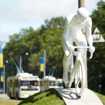 Bicycling in Kharkov