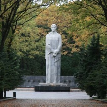 Memorial of Glory and Monument Motherland Mother